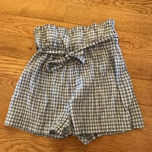 Urban outfitters plaid shorts
